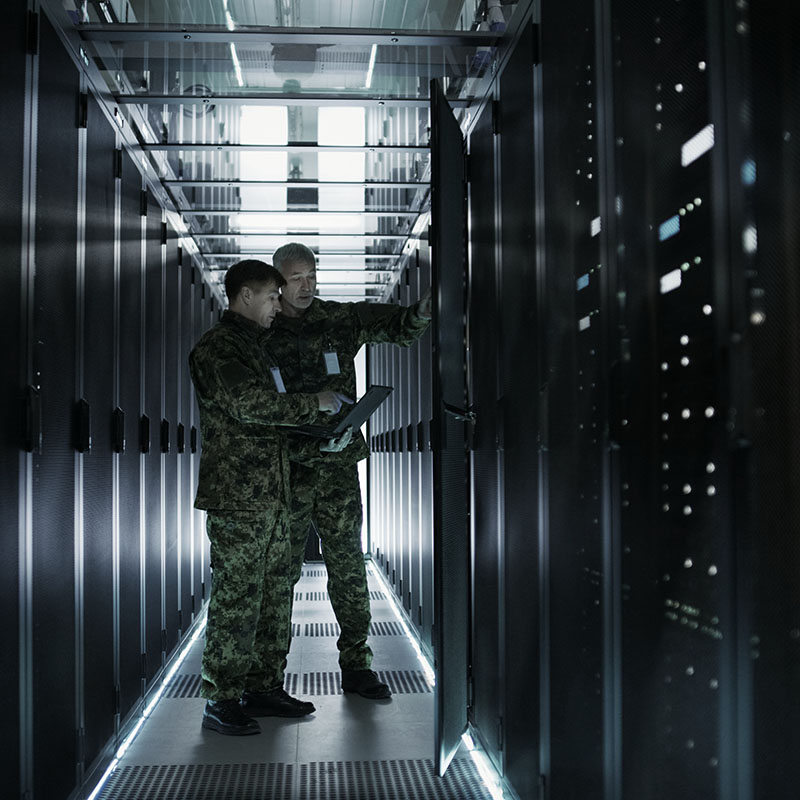military data security